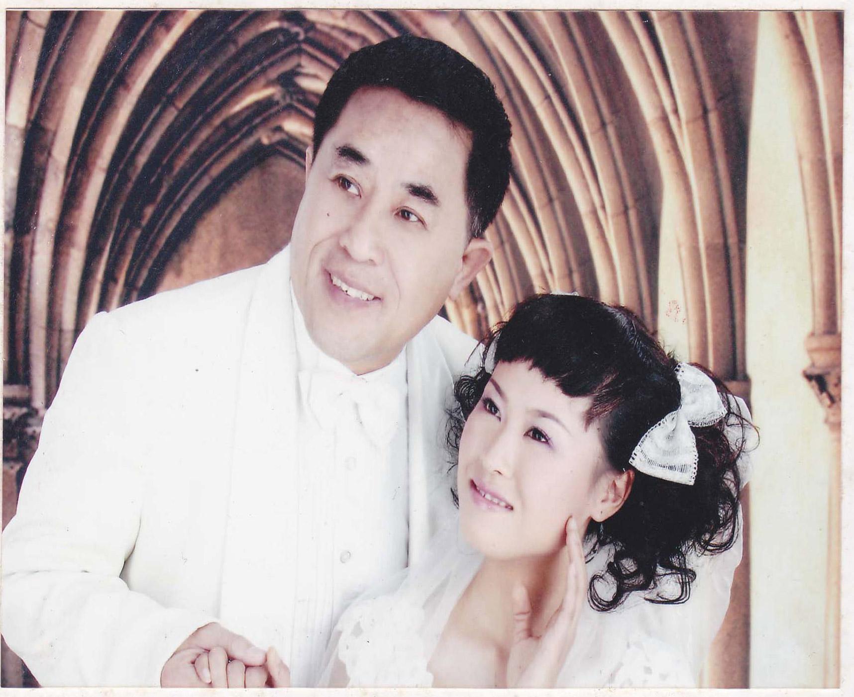 恭喜劉先生與佳麗結婚