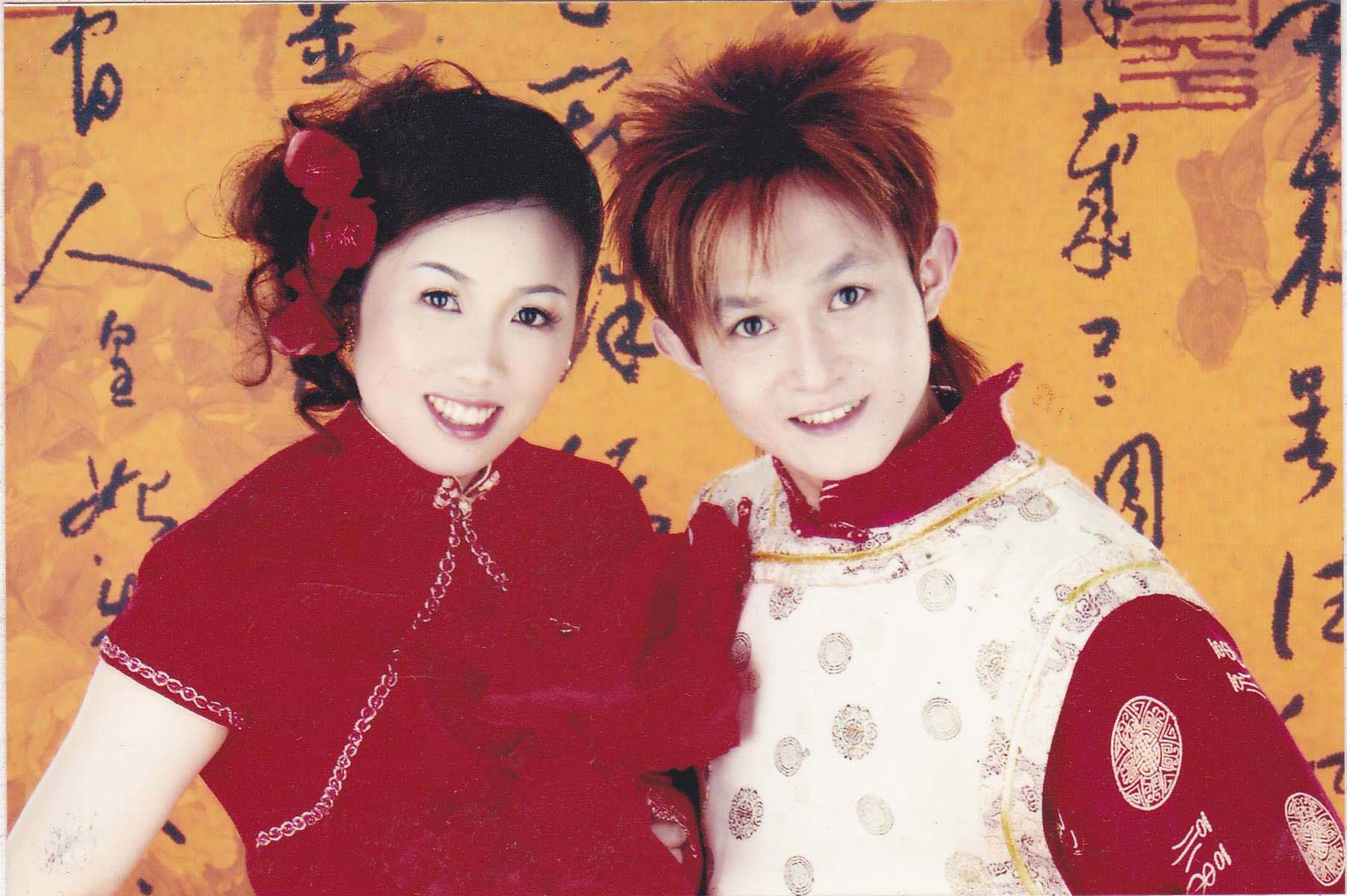 恭喜陳先生與佳麗結婚